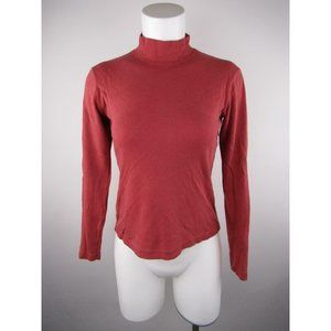 Energie Solid Long Sleeve Cotton T-Shirt Top